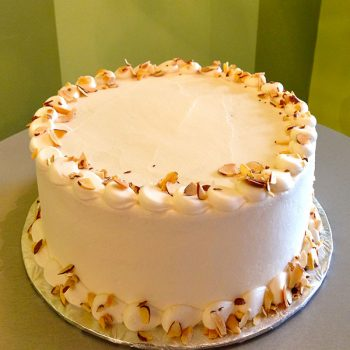 Almond Pound Cake Layer Cake