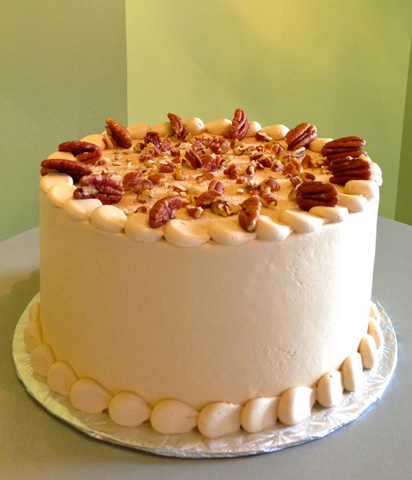 cinnamon pecan french toast layer cake cinnamon butter pecan cake with ...