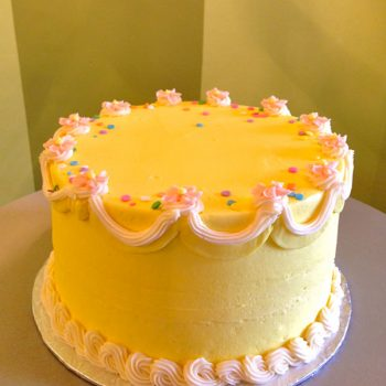 Confetti Garland Layer Cake