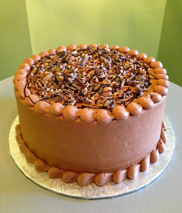 Heath Bar Layer Cake
