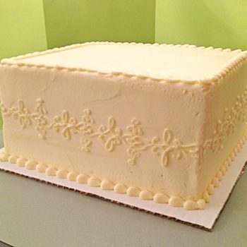 Lace Band Layer Cake - Square