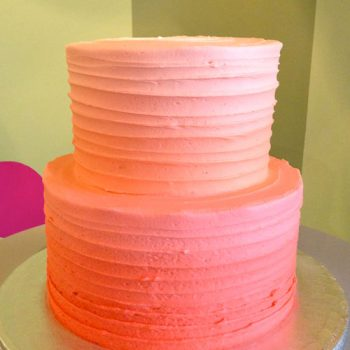Anabelle Ombre Tiered Cake