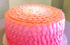 Petra Ombre Layer Cake