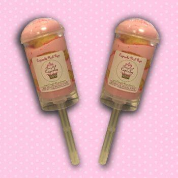Pink Lemonade Cupcake Push Pop