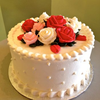 Rose Layer Cake