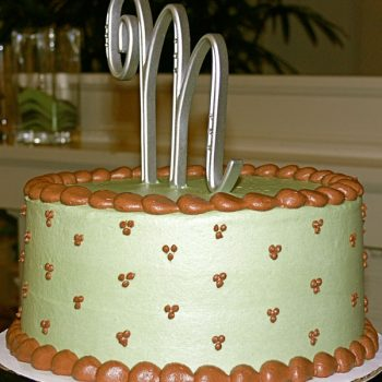 Swiss Dot Layer Cake