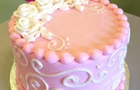Sweet Rose Layer Cake