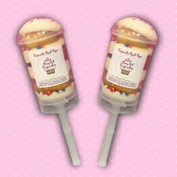 Vanilla Cupcake Push Pop