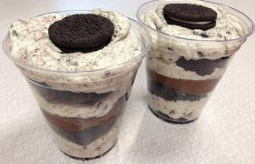 Cookies & Cream Cupcake Mousse Parfait