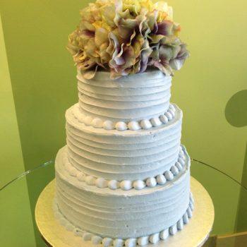 Anabelle Wedding Cake - Blue