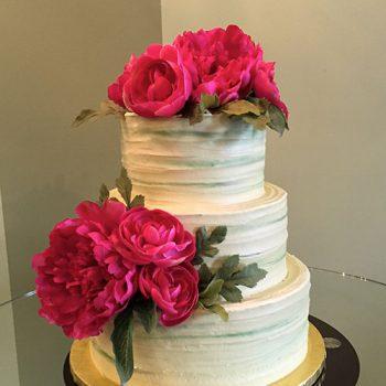 Anabelle Wedding Cake - Green