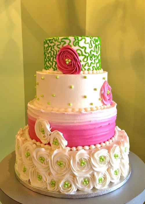 Carrie Wedding Cake