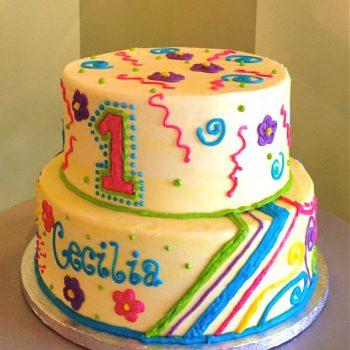 Cecilia Tiered Cake