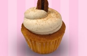 Cinnamon Pecan French Toast Cupcake