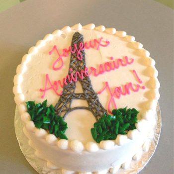 Eiffel Tower Layer Cake