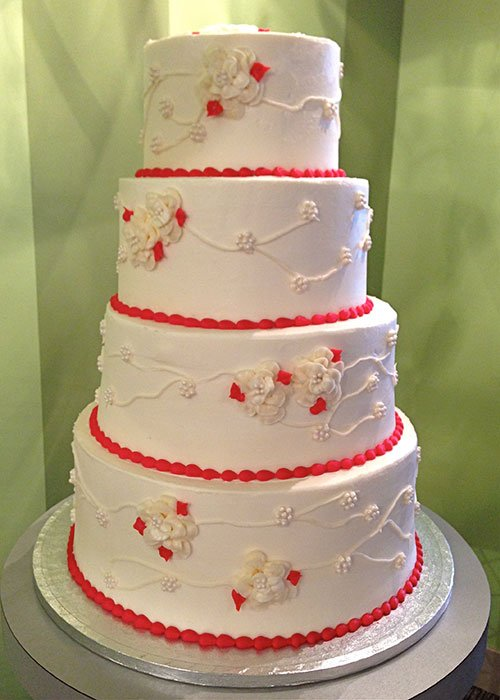 Florissa Vine Wedding Cake