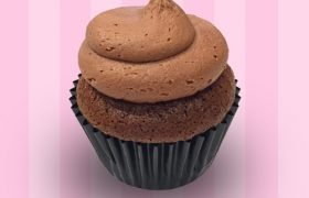 Ghirardelli Chocolate Cupcake