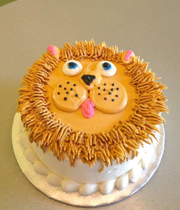 Lion Cake Cupcake Mane