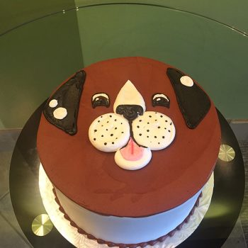 Puppy Layer Cake