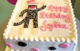 Sock Monkey Layer Cake