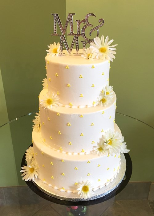 Wedding cakes classy girl cupcakes swiss dot wedding cake junglespirit Gallery