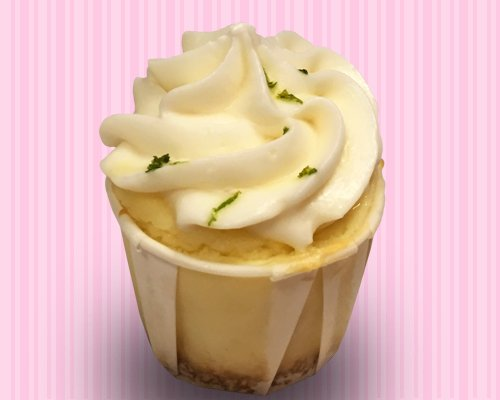 Key Lime Cheesecake Cupcake