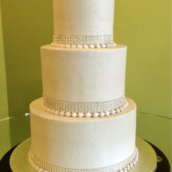 Crystal Wedding Cake - Grey