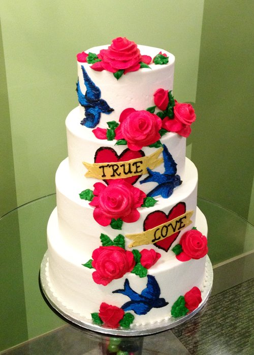 Kat Wedding Cake