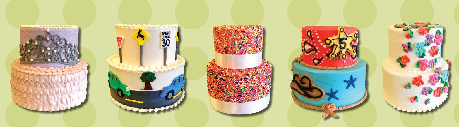 Website Banner - Two Tiered Cakes