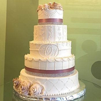 Ana Wedding Cake - Taupe