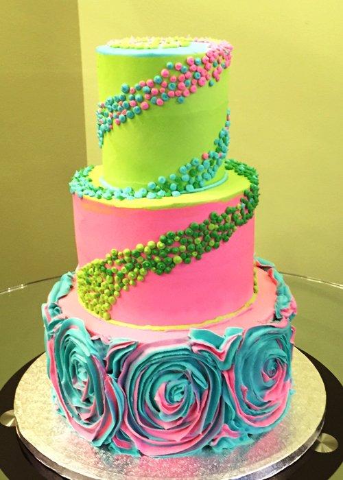 Angela Wedding Cake