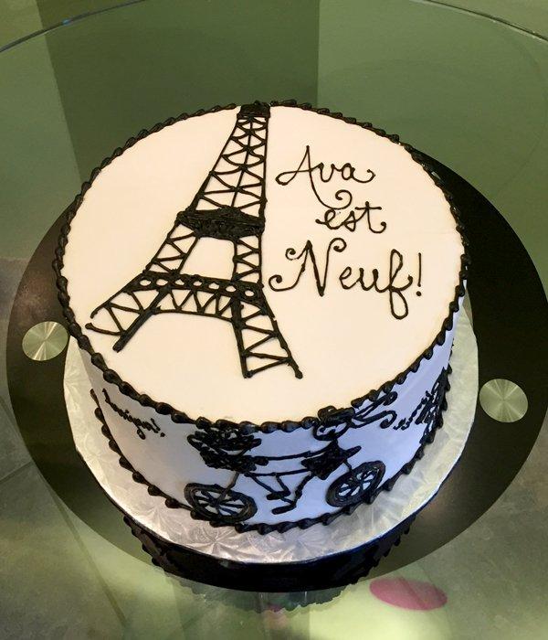 French Bon Bon Birthday Cakes