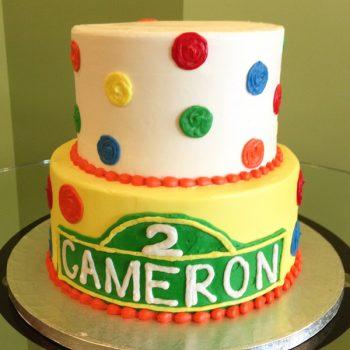 Cameron Tiered Cake