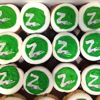 Company Logo Cupcakes - Zip Car