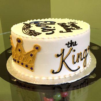 Elvis Layer Cake - Side