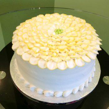 Flower Petal Layer Cake