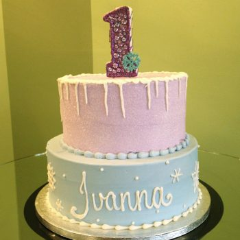 Frozen Tiered Cake - Plain