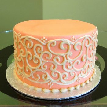 Grace Layer Cake - Coral
