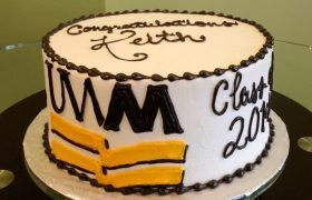 Graduation Layer Cake - UWM