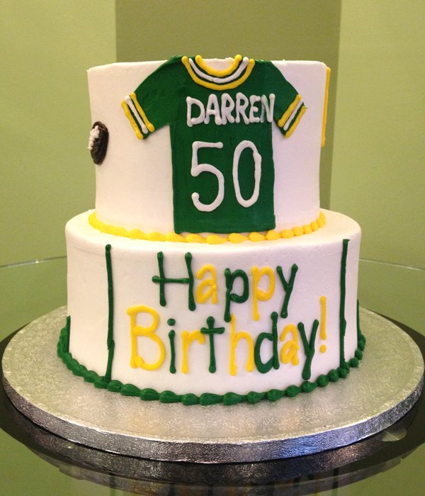Jersey Tiered Cake