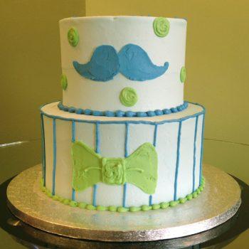 Li'l Man Tiered Cake