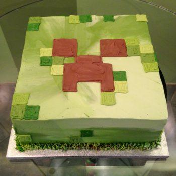 Minecraft Layer Cake - Square