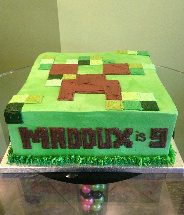 Minecraft Layer Cake