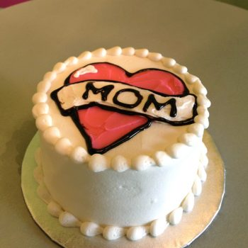 Mom Tattoo Layer Cake