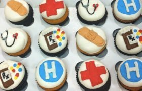 Nurse Doctor Cupcakes