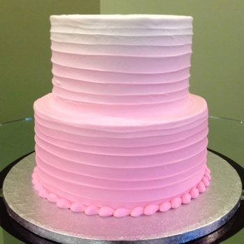 Anabelle Ombre Tiered Cake - Pink