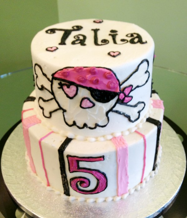 Pirate Tiered Cake