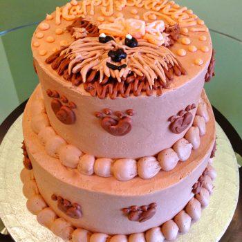 Puppy Tiered Cake