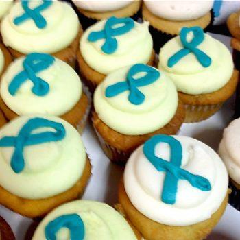 Awareness Ribbon Cupcakes