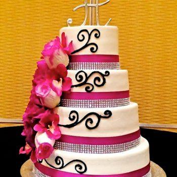 Bianca Wedding Cake - Sheraton Brown Deer